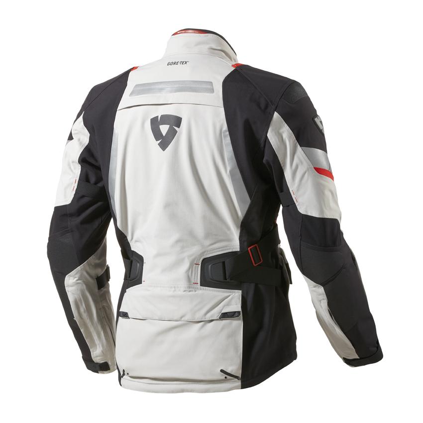 Motorcycle jacket Rev'it Poseidon GTX Grey Black