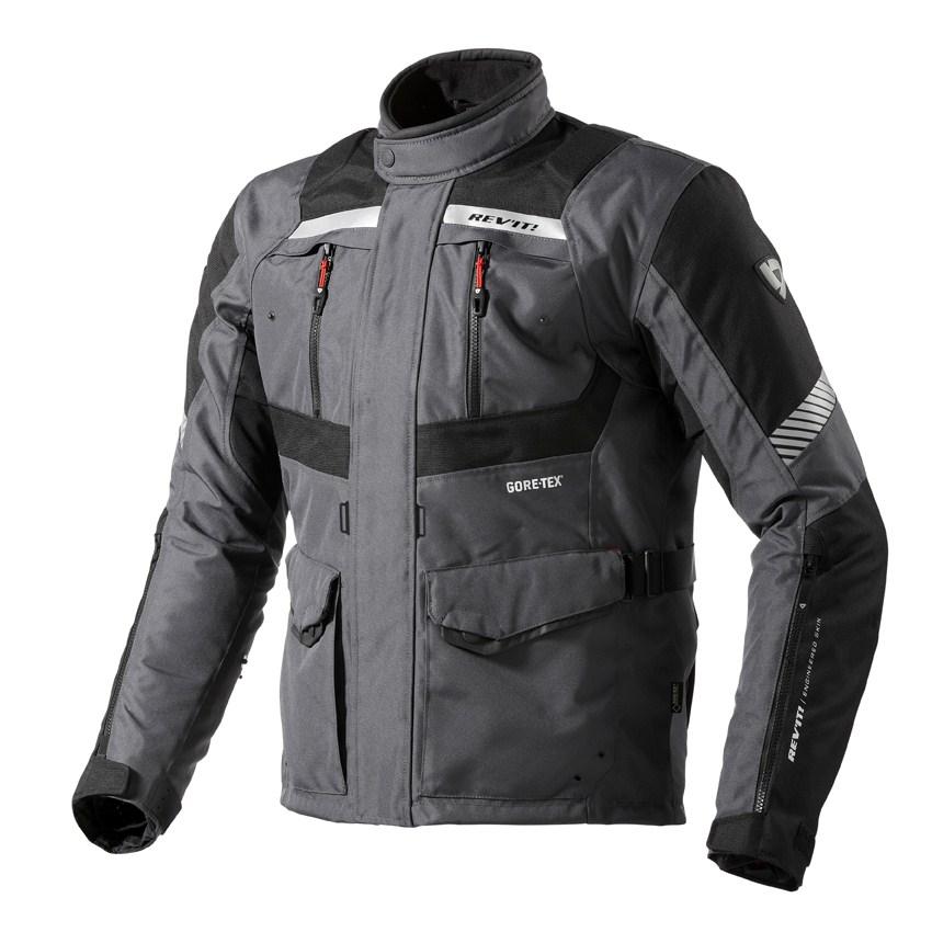 Motorcycle jacket Rev'it Neptune GTX Anthracite Black