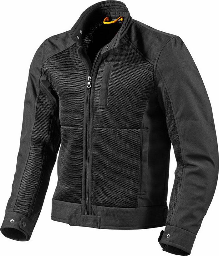 Motorcycle jacket Rev'It Manzoni Black
