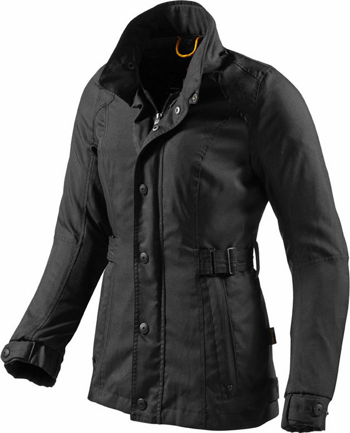 Melrose woman motorcycle jacket Rev'It Ladies Black
