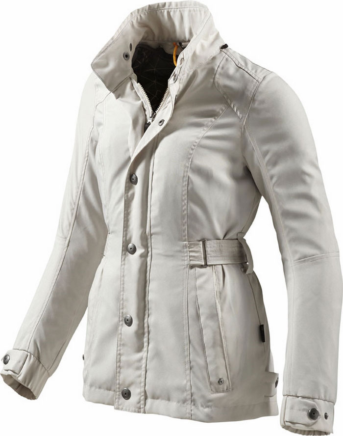 Melrose woman motorcycle jacket Rev'It Ladies Silver