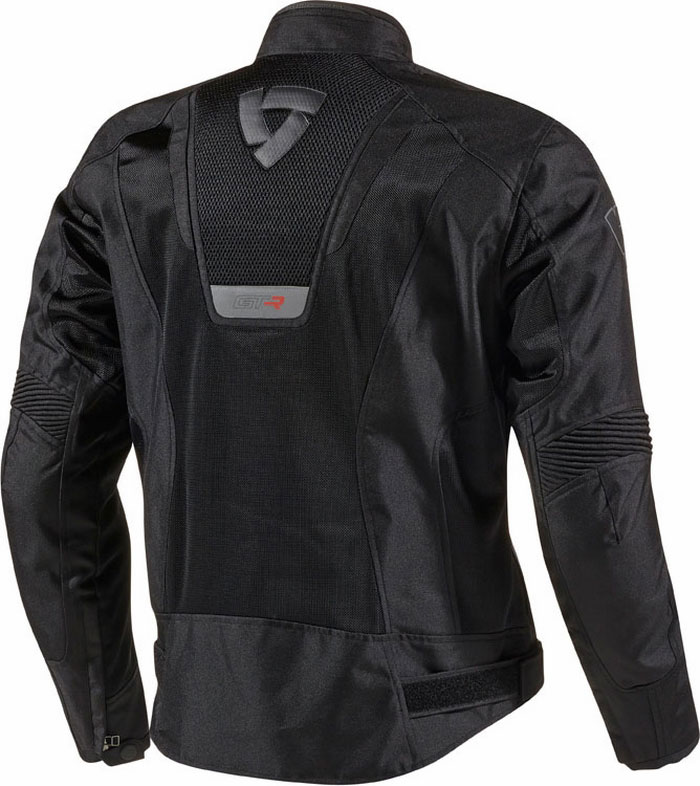 Motorcycle jacket Rev'It Air GT-R Black