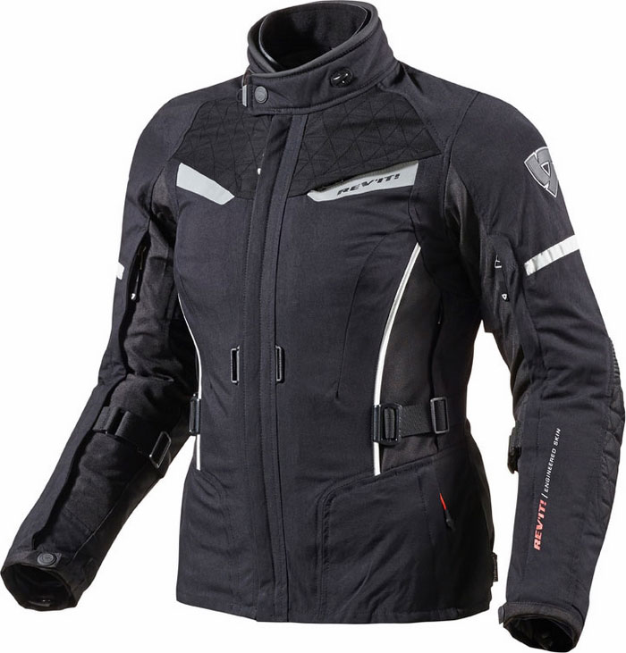 Woman motorcycle jacket Rev'It Sand Ladies Black White