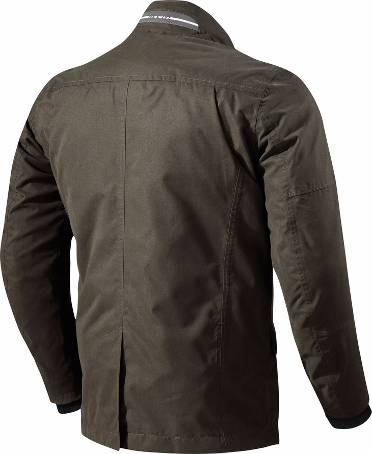 Motorcycle jacket Rev'It Elysee Dark Brown