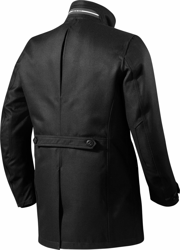 Motorcycle jacket Rev'It Square Black 2