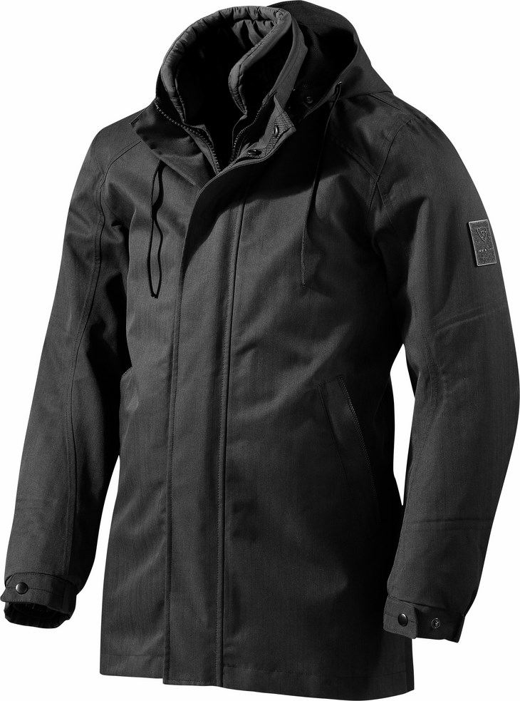 Motorcycle jacket Rev'It Avenue 2 GTX Black