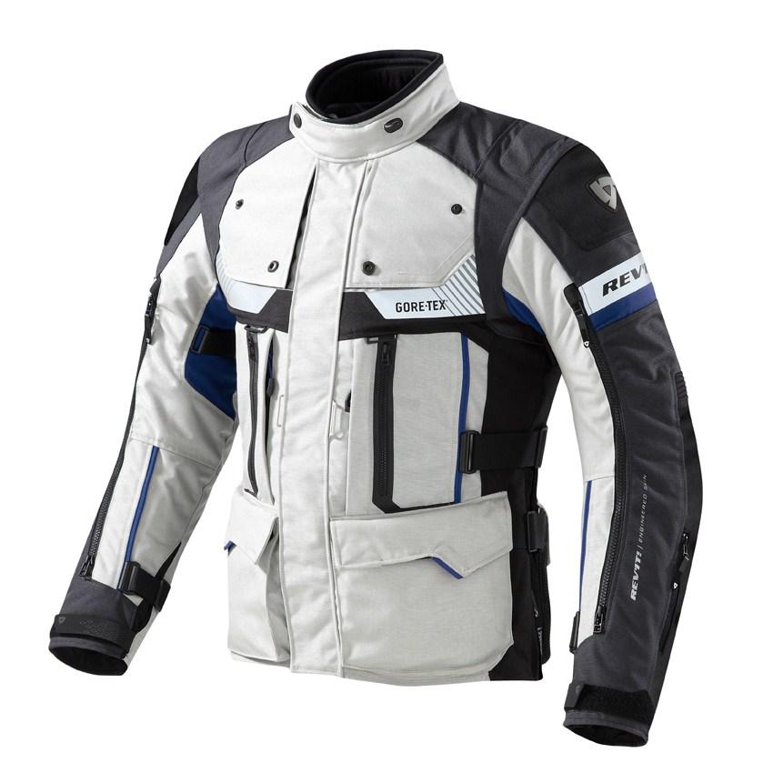 Giacca moto Rev'it Defender Pro GTX Grigio Blu