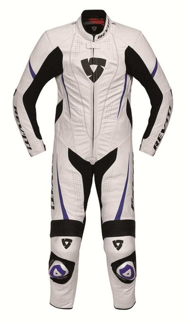 Biker motorcycle jacket Rev'it Bullit Black Blue