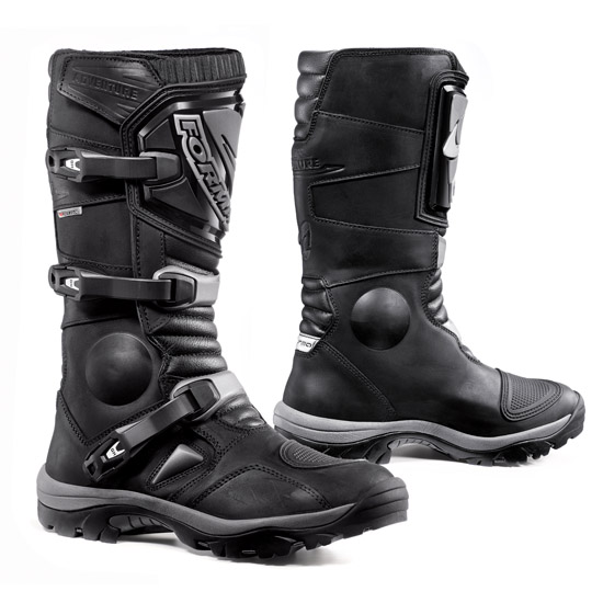 Enduro Boots Black Leather Forma Adventure