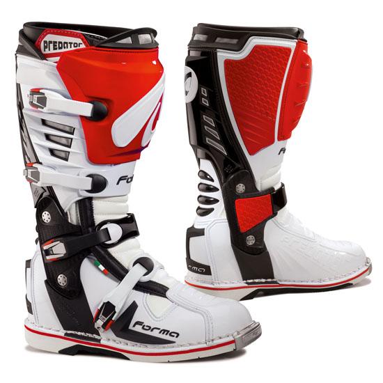 Boots Predator Red Cross Shape