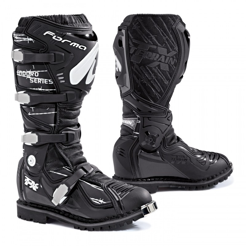 Boots Forma Terrain TX Enduro Enduro Leather Black