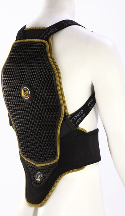 Forcefield Pro L2K Kevlar  back protector ladies