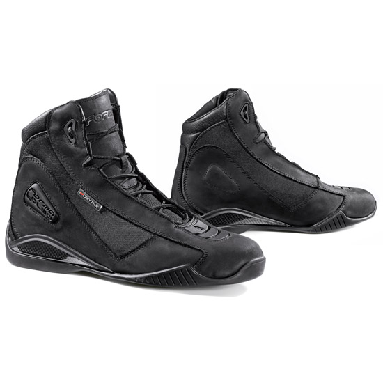 Motorcycle leather shoes Urban Forma Touch Hi-Dry Black