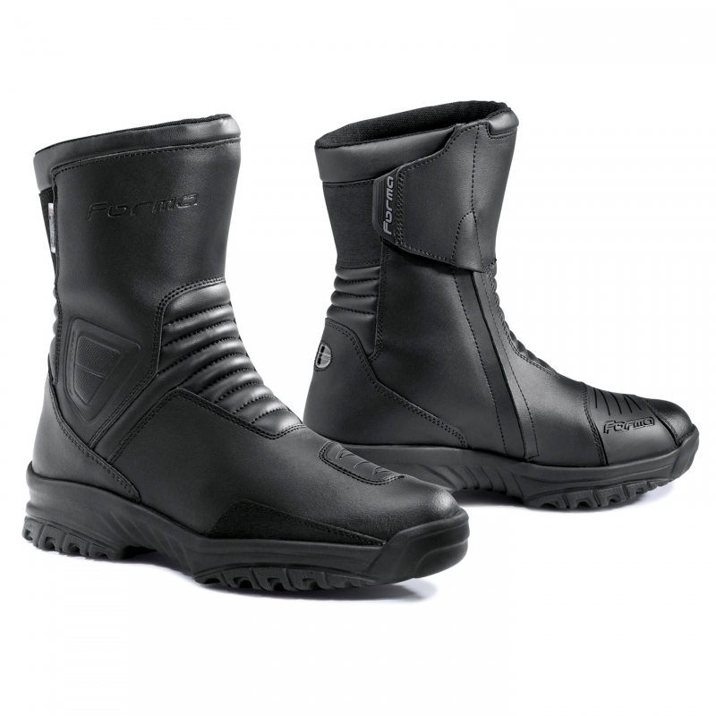 Motorcycle Boots Black Forma Valley SA