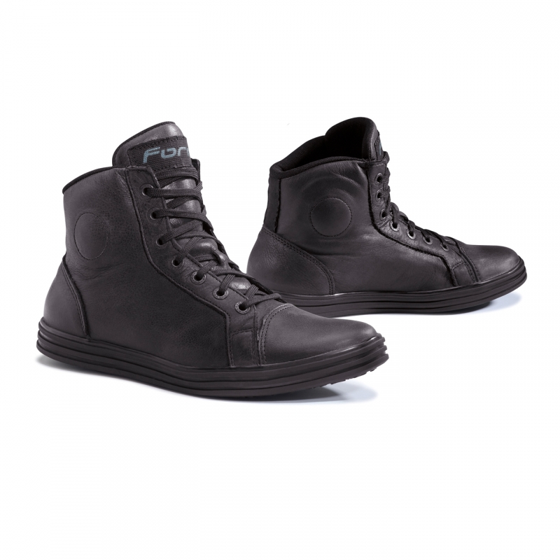 Motorcycle leather shoes Forma Slam Dry Black