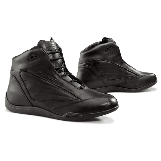 Shoes leather motorcycle Forma Metropolitan Black