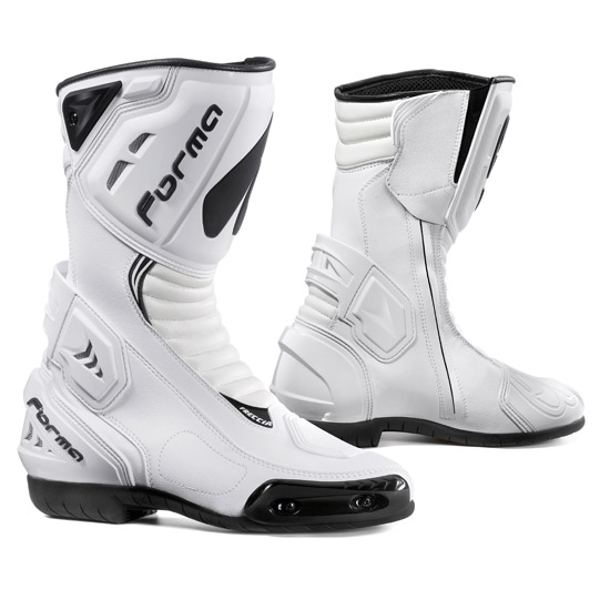 White Arrow Forma Motorcycle Boots
