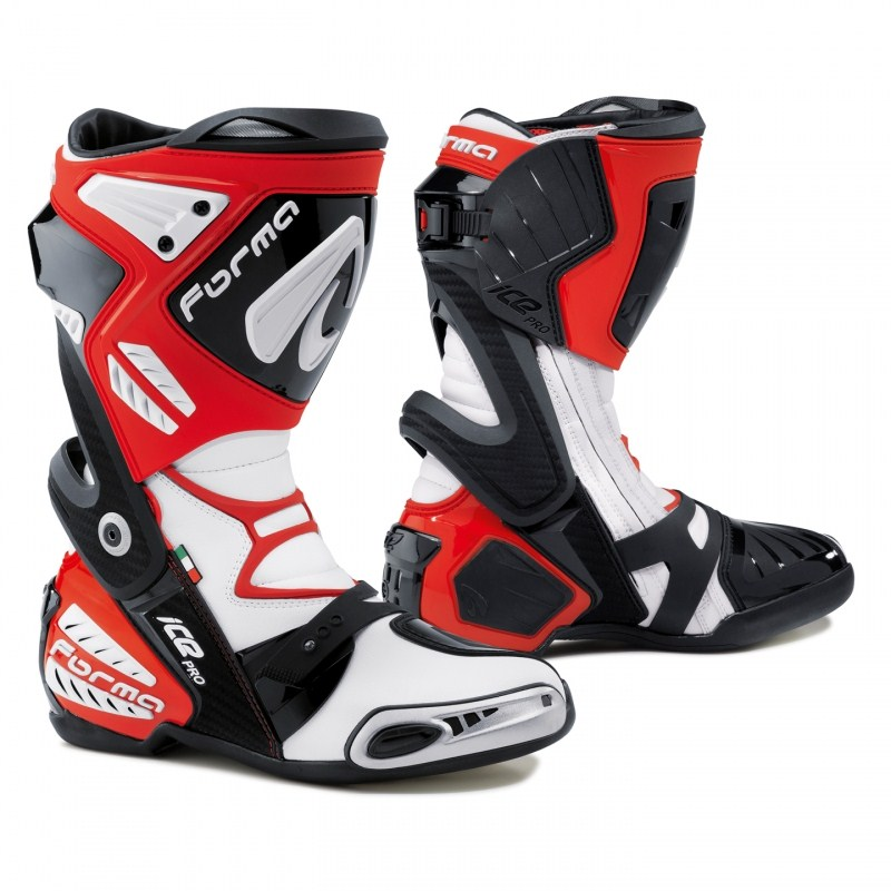Motorcycle boots Pro Forma Red Ice
