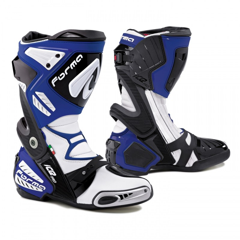 Motorcycle boots Pro Forma Ice Blue