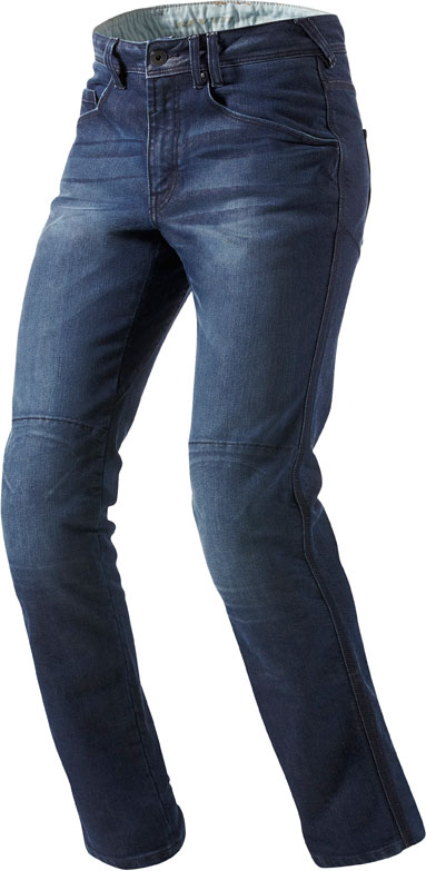 Jeans moto Rev'it Vendome blu medio L34