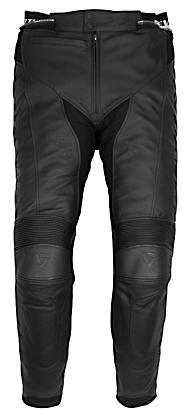 Pantaloni moto in pelle Rev'it Aurora - Allungato