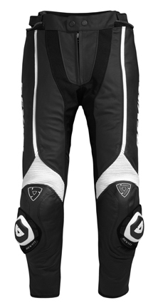 Trousers Rev'it Raven Black-White - Long