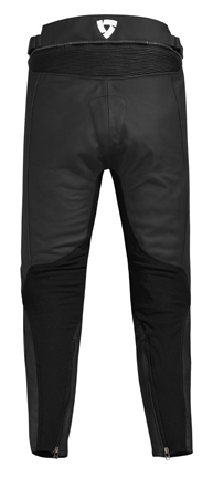 Pantaloni moto in pelle Rev'it Tarmac Nero - Accorciato