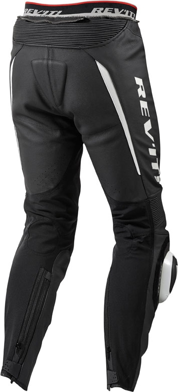 Rev'it GT-R leather pants black white standard