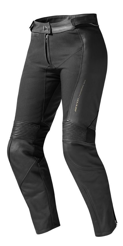 Pantaloni moto donna Rev'it Marryl Evo Ladies Nero Allungato