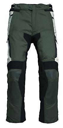 Pantaloni moto Rev'it Cayenne Pro verde scuro - grigio