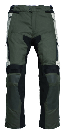 Pantaloni moto Rev'it Cayenne Pro Verde scuro-Grigio - Accorci