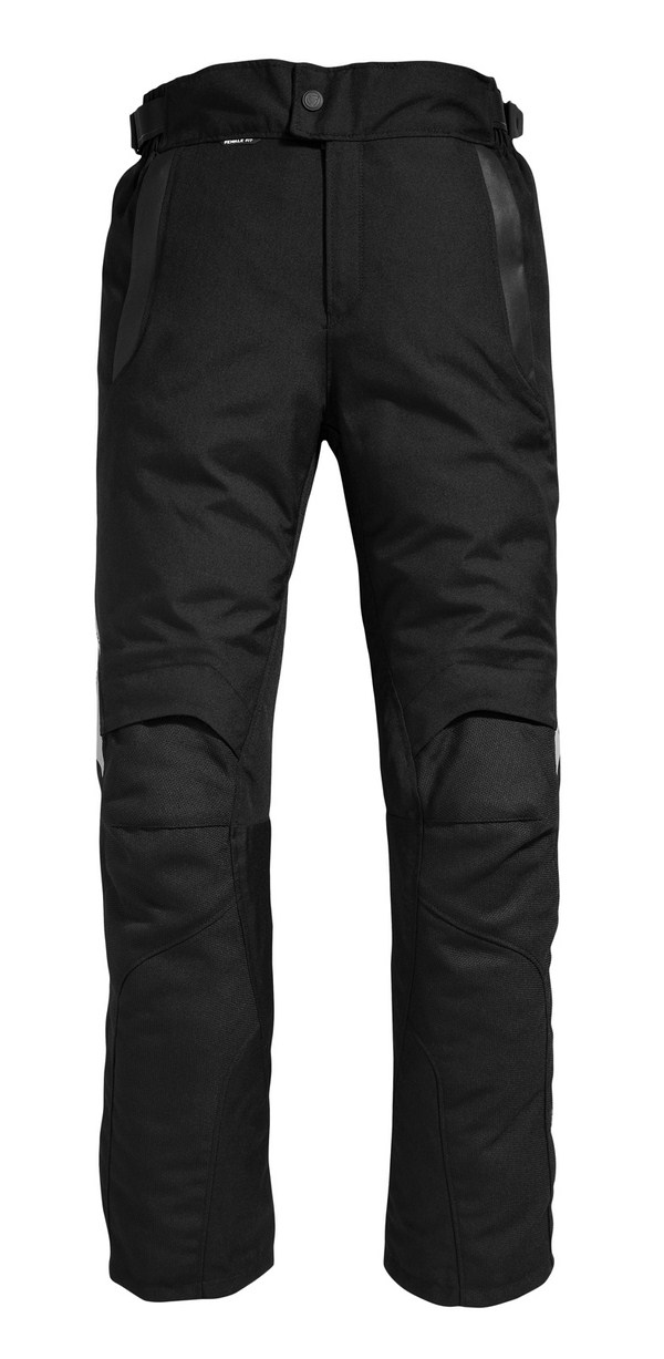 Pantaloni moto donna Rev'it Factor 2 Nero