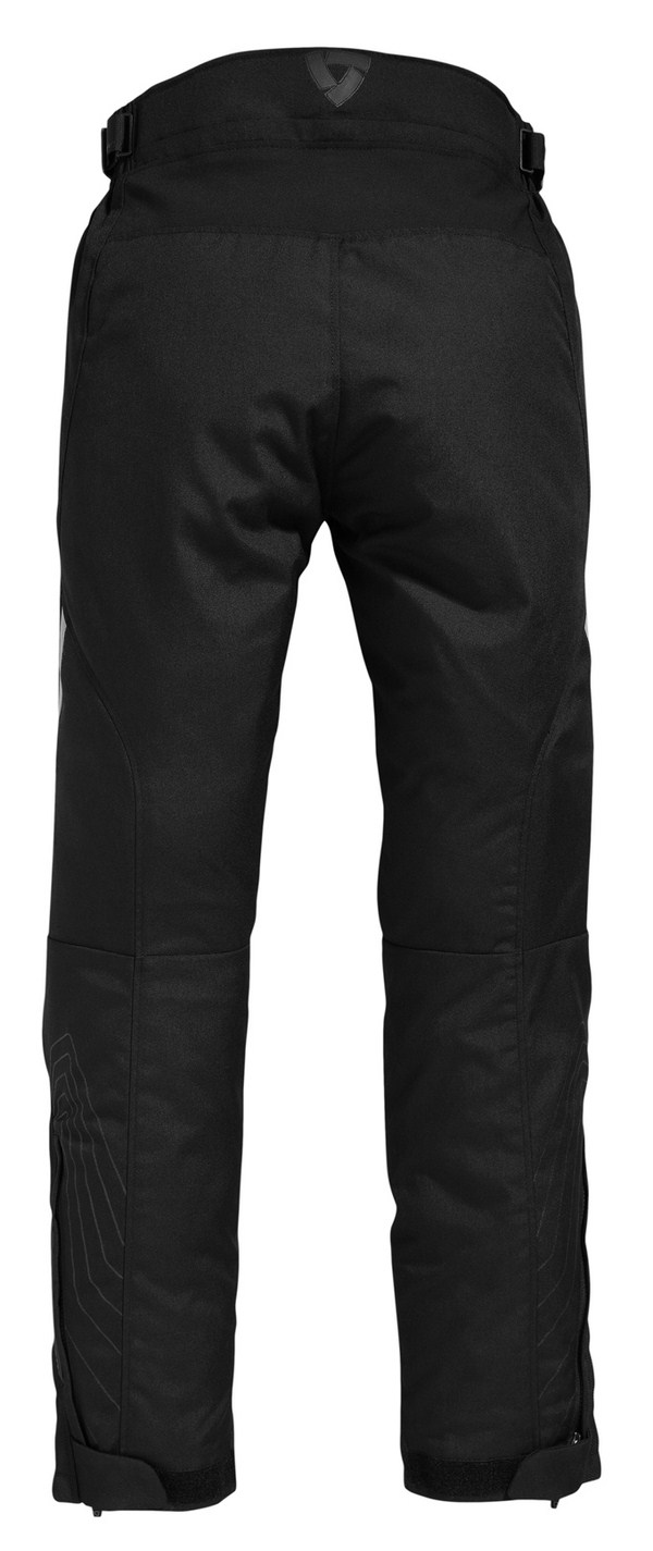 Motorcycle pants woman Rev'it Factor 2 Black - Shorted
