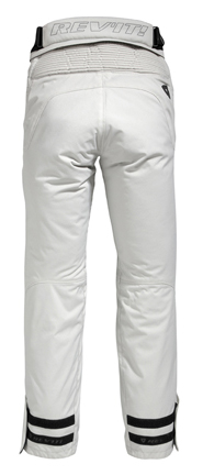 Pantaloni moto donna Rev'it Ventura Argento - Accorciato