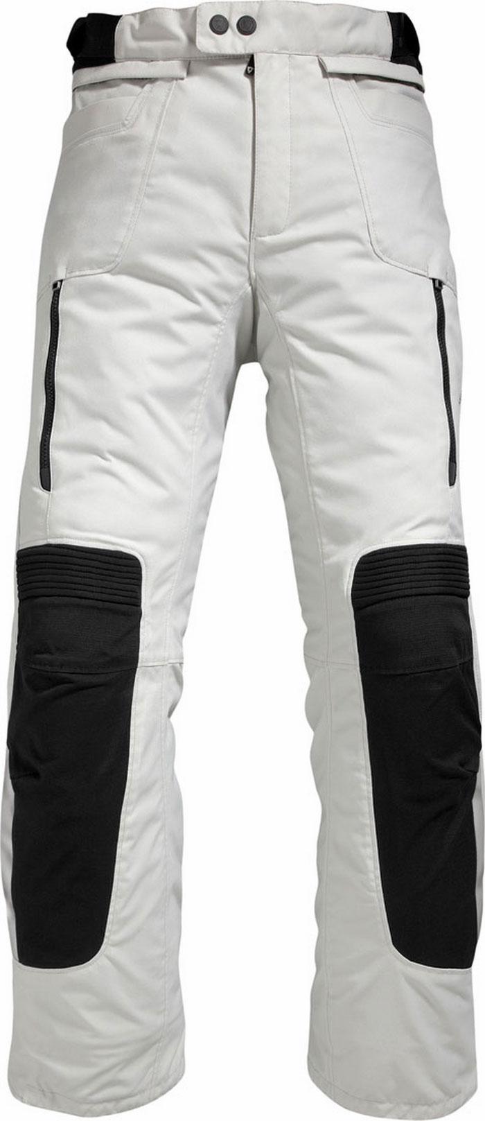 Pantaloni  moto donna Rev'it Ventura argento