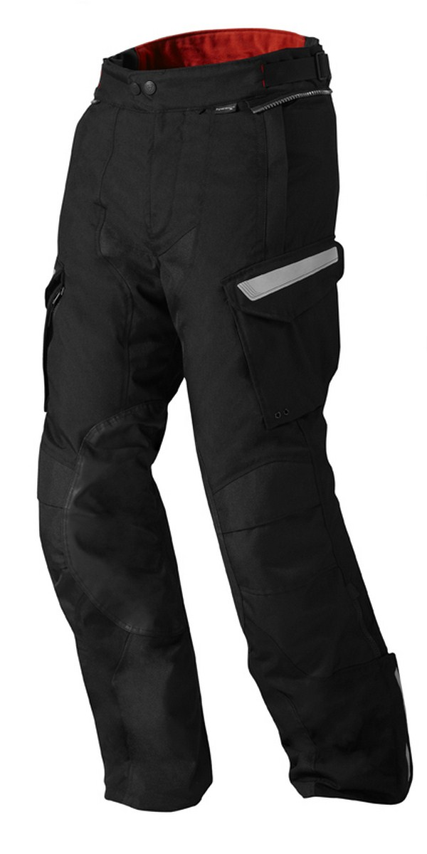Motorcycle pants Rev'it Sand 2 Black - Stretched