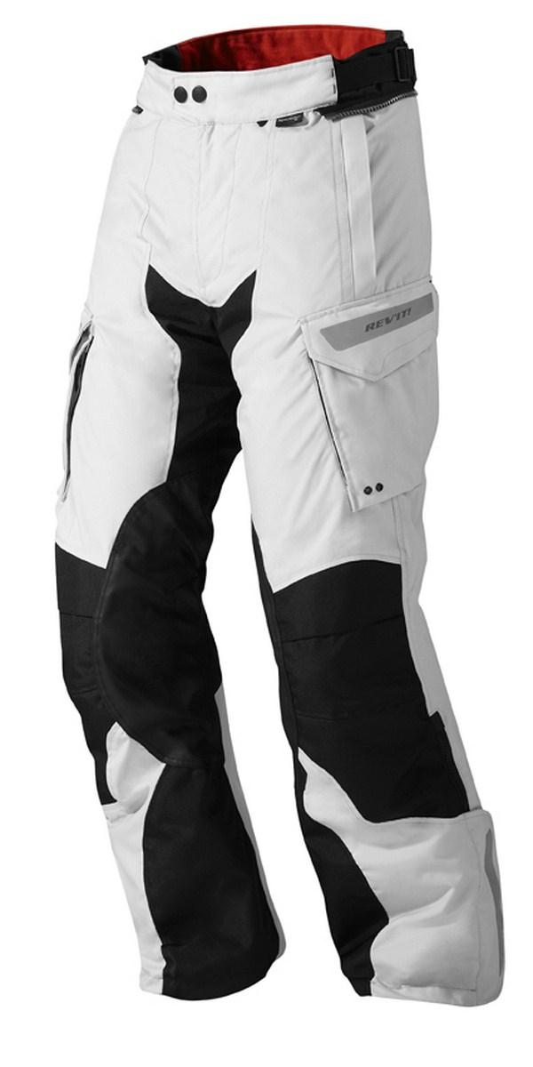 Pantaloni moto Rev'it Sand 2 Argento Nero