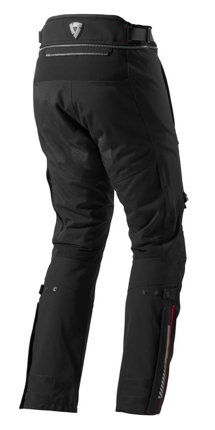 Motorcycle trousers Rev'it Poseidon GTX Black