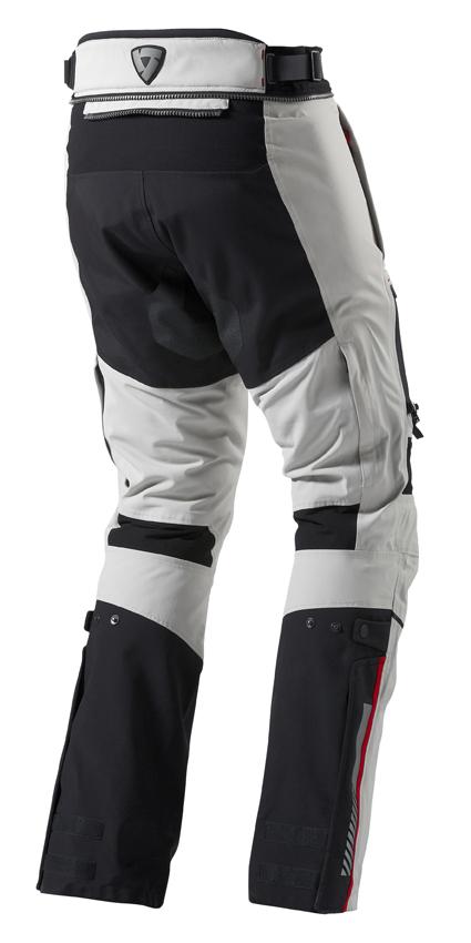 Pantaloni moto Rev'it Poseidon GTX Grigio chiaro Nero