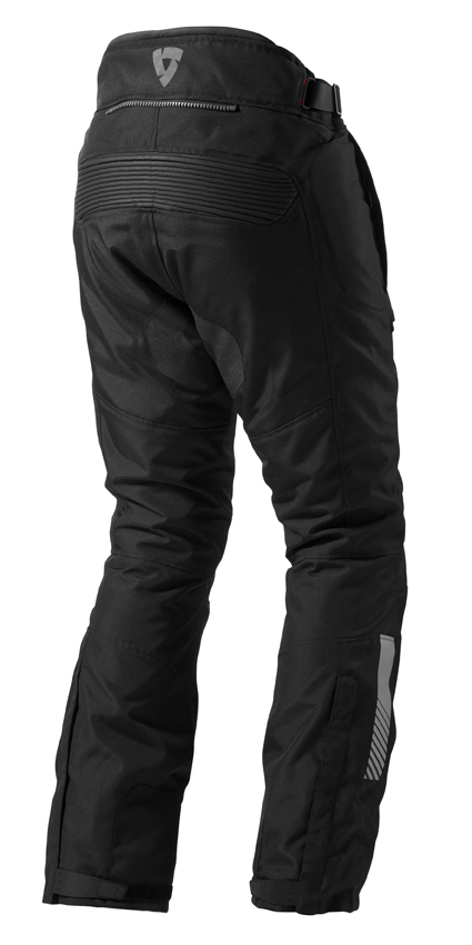 Motorcycle trousers Rev'it Neptune GTX Black - Shortened