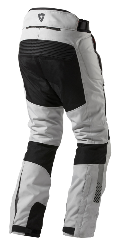 Motorcycle trousers Rev'it Neptune GTX Black Silver - Shorte