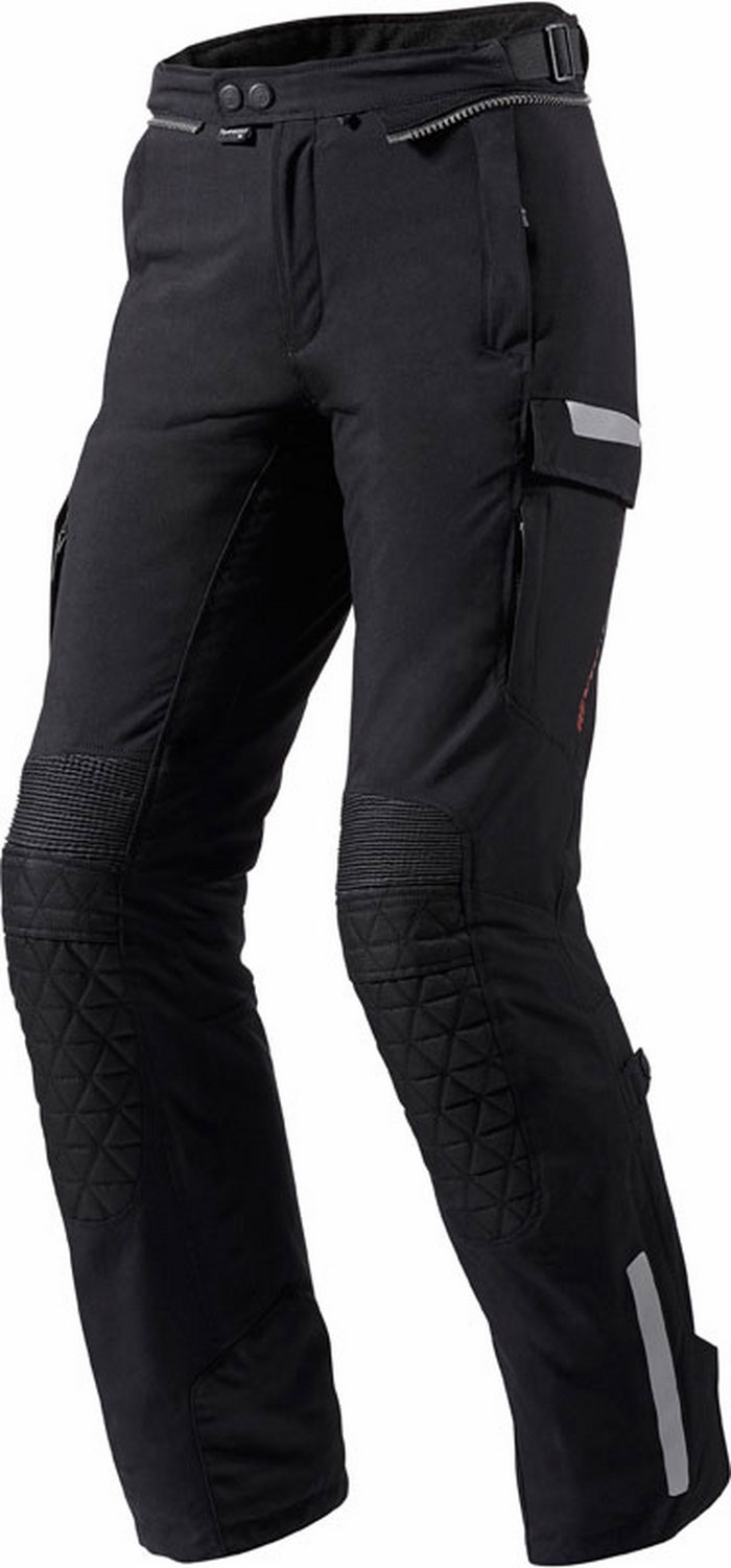 Motorcycle trousers woman Rev'It Sand Black Ladies