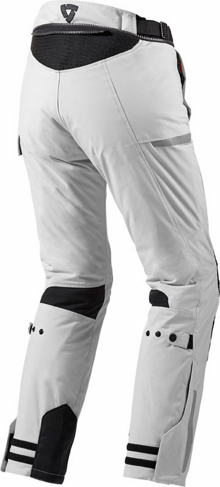 Motorcycle trousers woman Rev'It Sand Ladies Silver Black