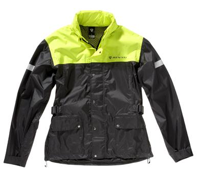Jacket Rev'it Nitric H2O Black-Neon Yellow