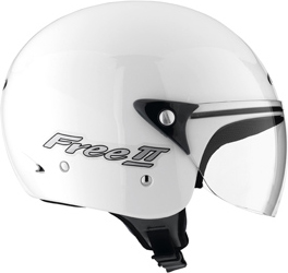 MDS by Agv Free II Multi Mono open face helmet col. white