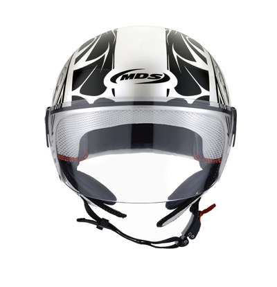 MDS by Agv Free II Multi Tattoo open face helmet col. pearl wh