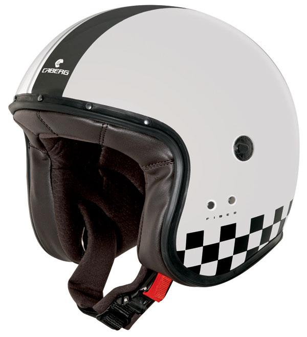 Caberg Freeride Indy jet helmet Black White