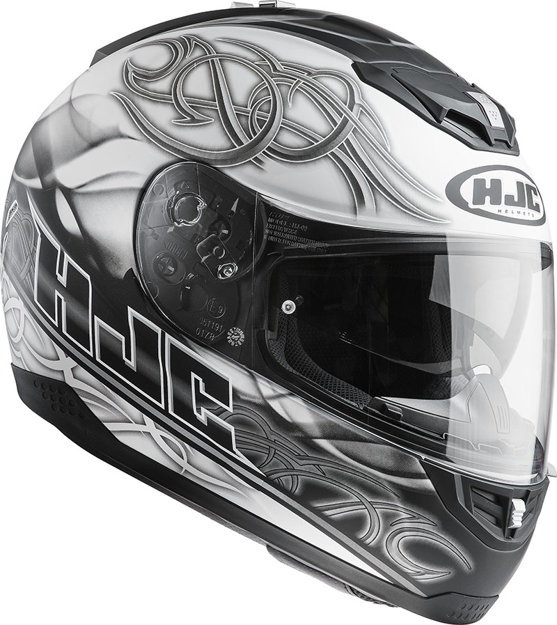 Full face helmet HJC FS11 Wave MC10F