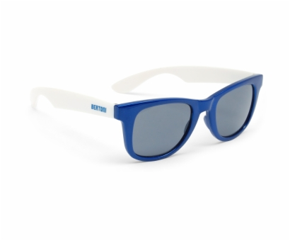 BERTONI FT46C Freetime Glasses - Col. White/Blue