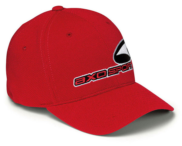 AXO Sport Red Hat Piquet flexfix